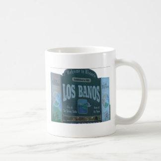 Los Banos City Sign Mug