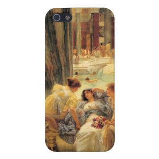 Los baños de Caracalla de Lawrence Alma-Tadema iPhone 5 Protectores