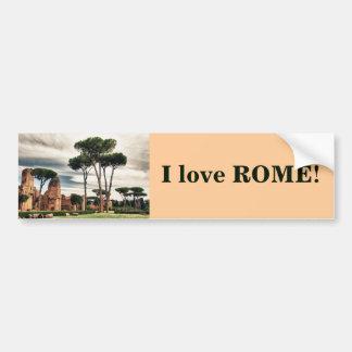 Los baños de Caracalla en Roma Pegatina Para Auto