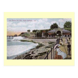 Los Banos del Mar, Santa Barbara, California Vinta Postcard