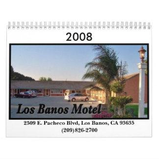 Los Banos Motel Calendar