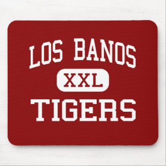 Los Banos - Tigers - High - Los Banos California Mouse Mats