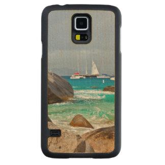 Los baños, Virgen Gorda, British Virgin Islands Funda De Galaxy S5 Slim Arce