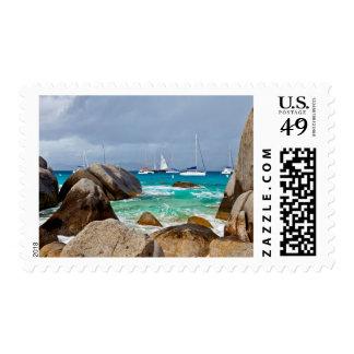 Los baños, Virgen Gorda, British Virgin Islands Sellos Postales