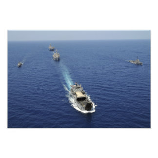 Los barcos de la Armada de la República de Fotografias