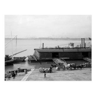 Los barcos salen del diario, Louisville, KY: 1900 Tarjeta Postal