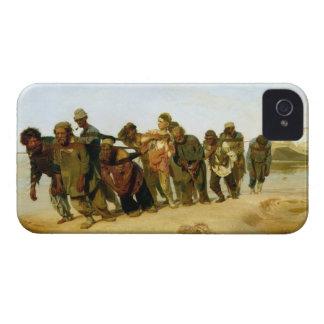Los barqueros en el Volga, 1870-73 iPhone 4 Cárcasa