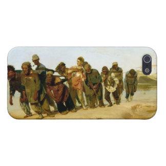 Los barqueros en el Volga, 1870-73 iPhone 5 Fundas