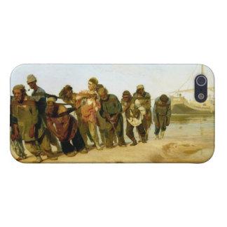 Los barqueros en el Volga, 1870-73 iPhone 5 Cobertura