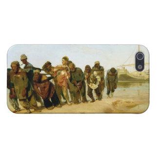 Los barqueros en el Volga, 1870-73 iPhone 5 Cárcasas