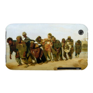 Los barqueros en el Volga, 1870-73 iPhone 3 Carcasas