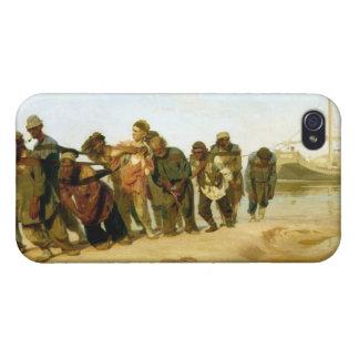 Los barqueros en el Volga, 1870-73 iPhone 4 Carcasa