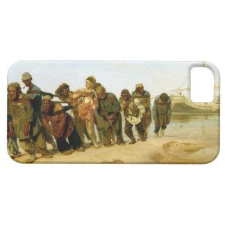 Los barqueros en el Volga, 1870-73 iPhone 5 Carcasas