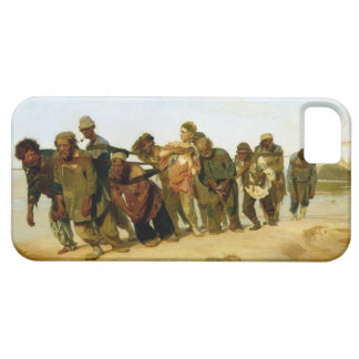 Los barqueros en el Volga, 1870-73 iPhone 5 Funda