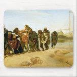 Los barqueros en el Volga, 1870-73 Mousepad