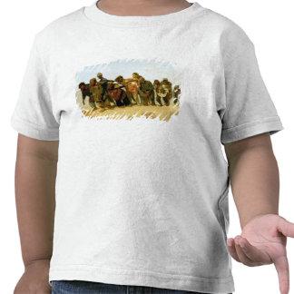 Los barqueros en el Volga, 1870-73 Camiseta
