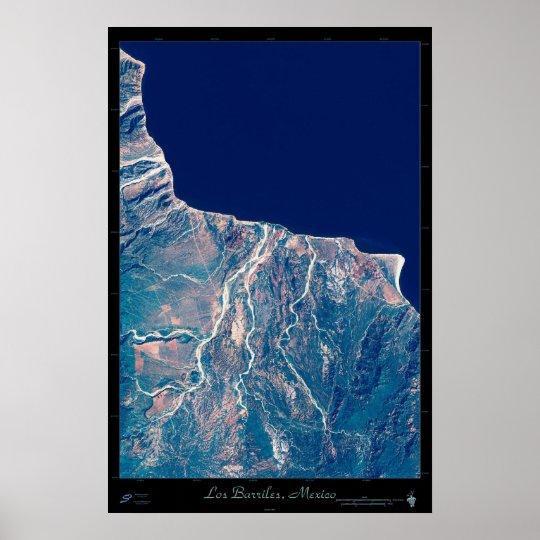 Los Barriles, Baja California Sur satellite poster