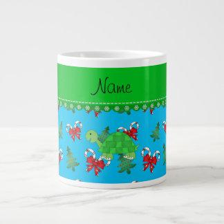 Los bastones de caramelo conocidos personalizados taza grande