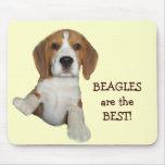 Los beagles son el mejor Mousepad Alfombrillas De Raton