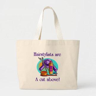Los Beauticians son un corte sobre la bolsa de asa
