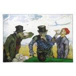 Los bebedores de Vincent van Gogh 1890 Mantel Individual