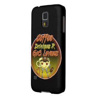 Los bebedores R del café mejoran a amantes Funda Galaxy S5