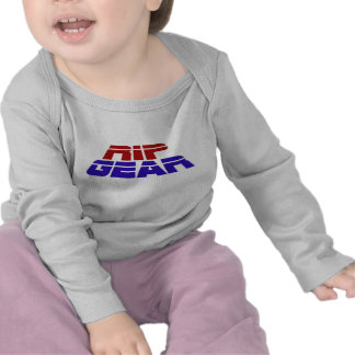 Los bebés primero RASGAN la camiseta del ENGRANAJE