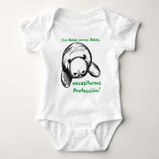 ¡Los bebés somos bebés, necesitamos protección! Baby Bodysuit