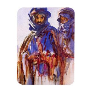 Los beduinos de John Singer Sargent Imanes De Vinilo