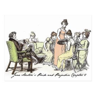 Los Bennets de P&P de Longbourn - de Jane Austen Postales