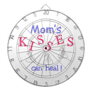 ¡Los besos de la mamá pueden curar!