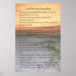 Los Bienaventurados (Version Vertical) Poster