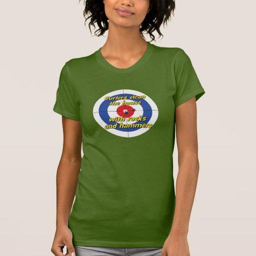 """Los """"bigudíes limpian camiseta de la casa"""" - (el polera"""