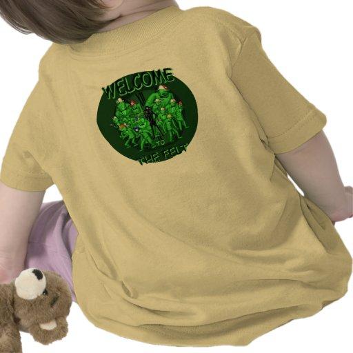Los billares de la cuadrilla del fieltro camiseta