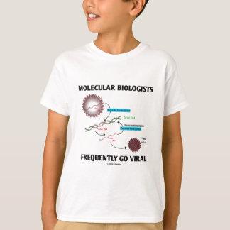 Los biólogos moleculares van con frecuencia poleras