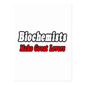 Los bioquímicos hacen a grandes amantes tarjetas postales