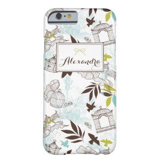 Los Birdcages modelan la caja personalizada del Funda Barely There iPhone 6