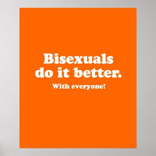 Los Bisexuals mejora Póster