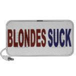 Los Blondes chupan iPod Altavoces