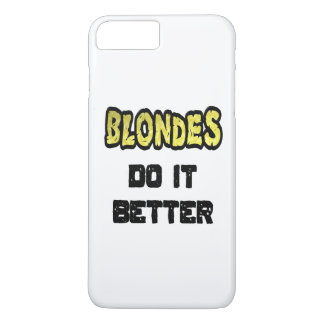Los Blondes mejora el caso más del iPhone 7 Funda iPhone 7 Plus