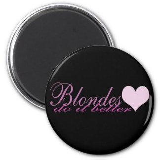 Los Blondes mejora Imán