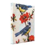 Los Bluebirds hermosos envolvieron arte de la lona Impresiones En Lienzo Estiradas