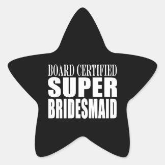 Los bodas favorecen símbolos y gracias: Dama de Pegatina En Forma De Estrella