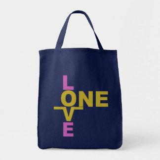 Los bolsos de la igualdad/un amor de la boda - eli bolsa tela para la compra