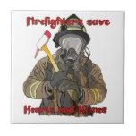 Los bomberos ahorran corazones y hogares azulejos