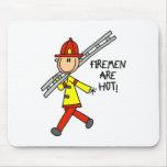 Los bomberos son Mousepad caliente Tapete De Ratón
