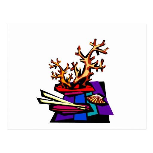 Los bonsais todavía viven imagen gráfica tarjetas postales