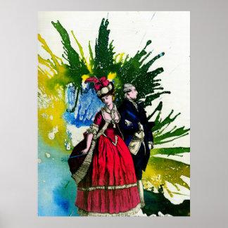 Los borbones franceses de Michael Moffa Posters