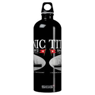 Los Botella-tamaños/los colores titánicos del agua