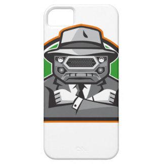 Los brazos de la cara de la parrilla del coche del iPhone 5 funda